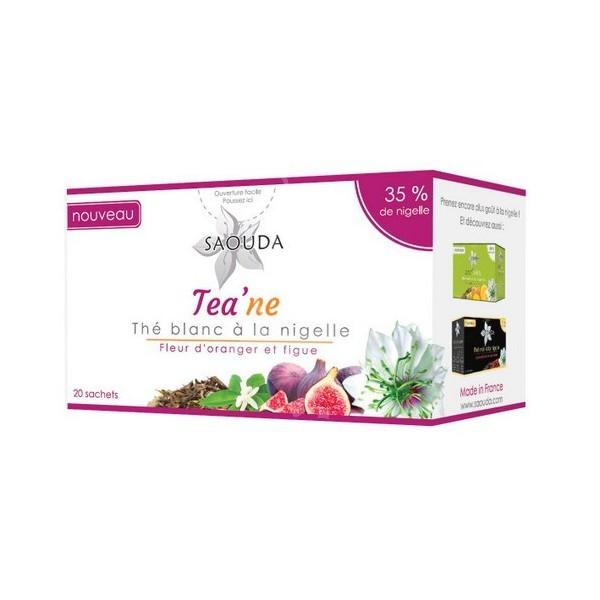 Thé blanc à la nigelle Fleur d'oranger et figue 20 sachets-0