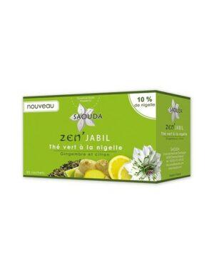 Thé vert à la nigelle – Zen' Jabil – Gimbembre et Citron
