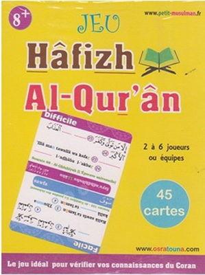 Jeu Hâfizh Al-Qur'ân (2 à 6 joueurs 8ans+) – 45 cartes