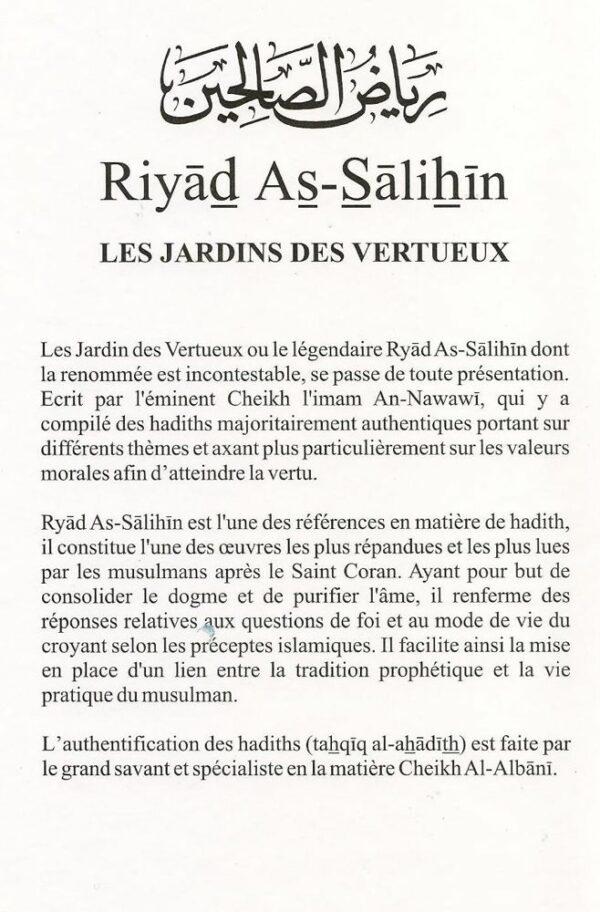 Riyad as-Salihin - Les jardins des vertueux-6881