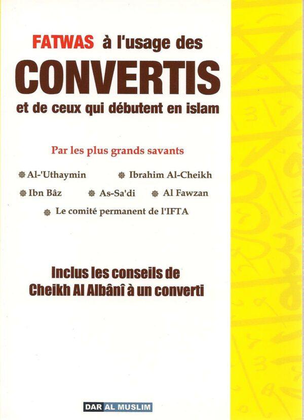 Fatwas à l'usage des convertis et de ceux qui débutent en Islam-0