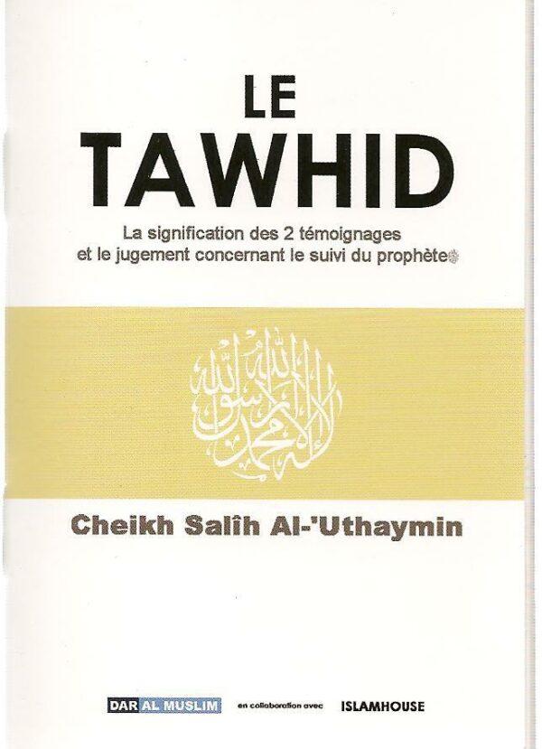 Le tawhid -0
