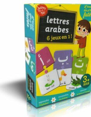 Puzzle lettres arabes 6 jeux en 1 !-0