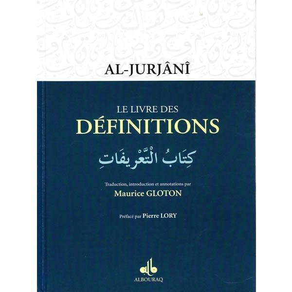 Le livre des Définitions - Al-Jurjânî - Maurice Gloton --0
