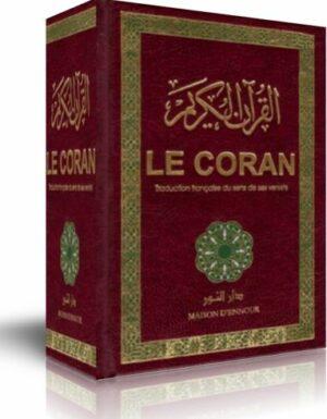 Le Coran traduction française du sens de ses versets (AR/FR) Maison Ennour-0