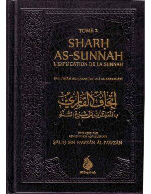 SHARH AS-SUNNAH - L'EXPLICATION DE LA SUNNAH - 2 volumes-0