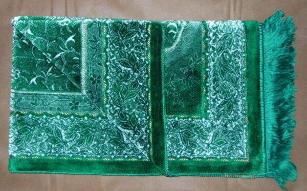 Tapis de prière velours - Vert --0