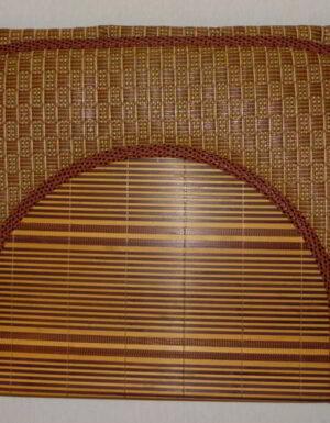 Tapis de prière Bambou naturelle