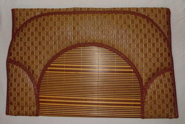 Tapis de prière Bambou naturelle-0