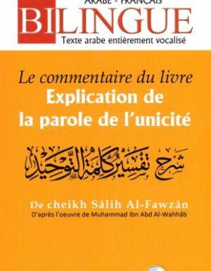"""Le commentaire du livre """" Explication de la parole l'unicité """"-0"""