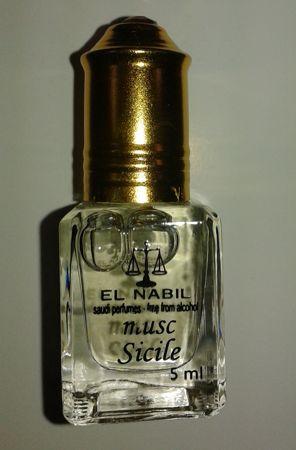 Parfum El Nabil - Musc Sicile - 5ml-7933