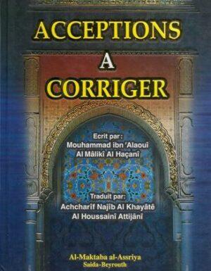 Acceptions a corriger-0