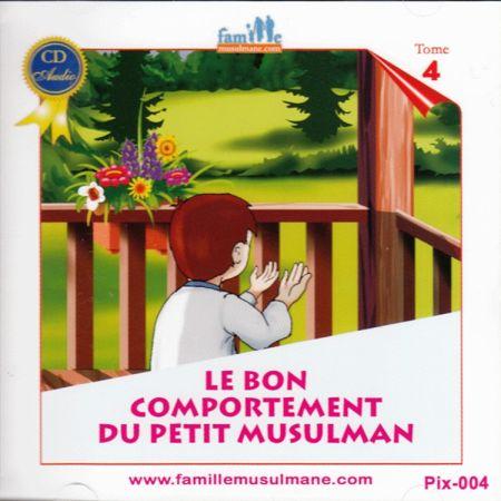 CD Le petit Hicham 4 le bon comportement du petit musulman-0