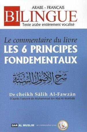 """Le commentaire du livre """" Les 6 principes fondamentaux """"-0"""