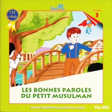 CD Le petit Hicham 3 les bonnes paroles du petit musulman-0