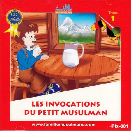 CD Le petit Hicham 1 Les invocations du petit musulman-0