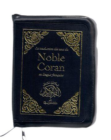 La traduction des sens du NOBLE CORAN en langue française avec fermeture eclair -Fr--0