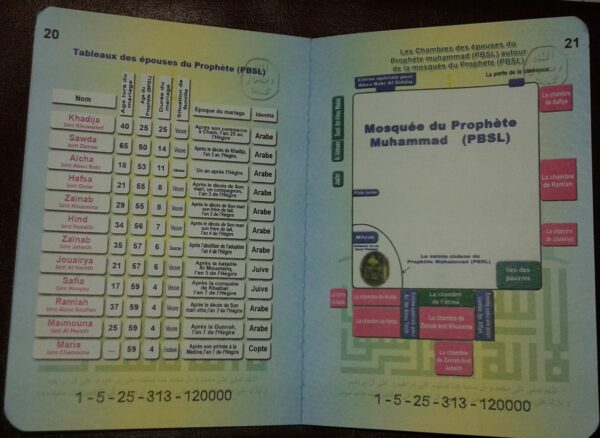 Le Livret de famille ou Passeport du Prophète version fraçaise-8170