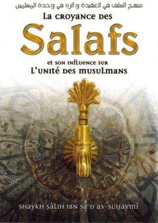 La croyance des salafs et son influence sur l'unité des musulmans-0