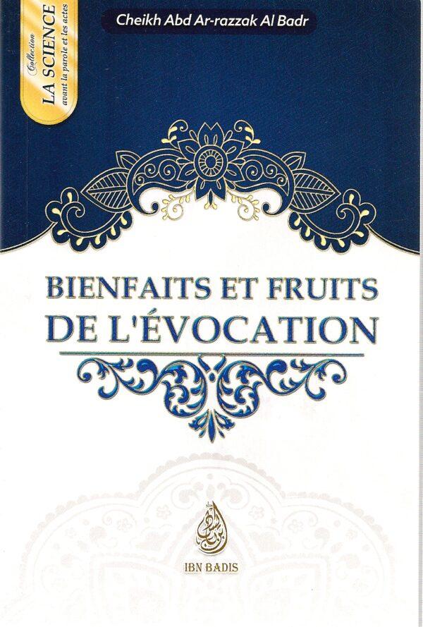 bienfaits et fruits de l'évocation-0