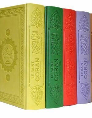 Le Saint Coran et la traduction en langue française du sens de ses versets (AR/FR) - Rouge-0