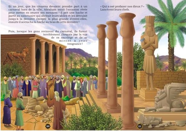 """Les récits des prophètes à la lumière du Coran et de la Sunna : Histoire de """"Abraham contre les idôles""""-8437"""