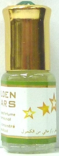 "Parfum Musc d'or ""Golden Stars"" 3ml-0"