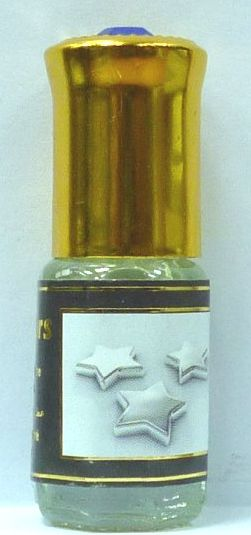 """Parfum Musc d'Or """"Silver Stars"""" - 3ml-0"""
