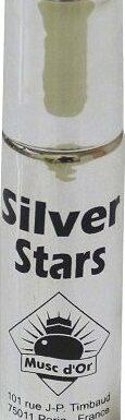Parfum concentré Musc d'Or Edition de Luxe Silver Star (8 ml) - Pour hommes-0