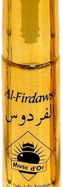 """Parfum concentré Musc d'Or Edition de Luxe """"Al Firdaws"""" (8 ml) – Pour femmes"""