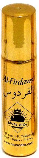 """Parfum concentré Musc d'Or Edition de Luxe """"Al Firdaws"""" (8 ml) - Pour femmes-0"""