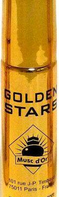 """Parfum concentré Musc d'Or Edition de Luxe """"Golden Stars"""" (8 ml) - Pour hommes-0"""