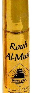 """Parfum concentré Musc d'Or Edition de Luxe """"Rouh Al-Musc"""" (8 ml) - Mixte-0"""