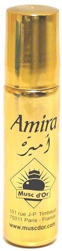 """Parfum concentré Musc d'Or Edition de Luxe """"Amira"""" (8 ml) - Pour femmes-0"""