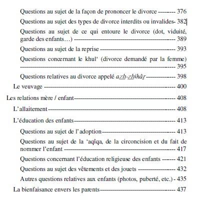 Fatâwâ an-Nissâ Questions religieuses concernant les femmes -8525