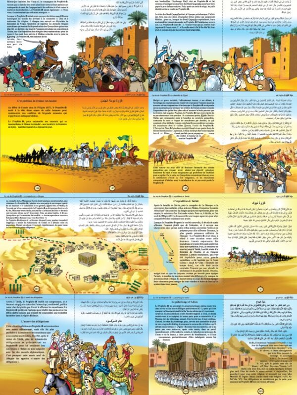 Le Grand Livre de La vie du Prophète Muhammad - حياة النبي صلى الله عليه وسلم-8519