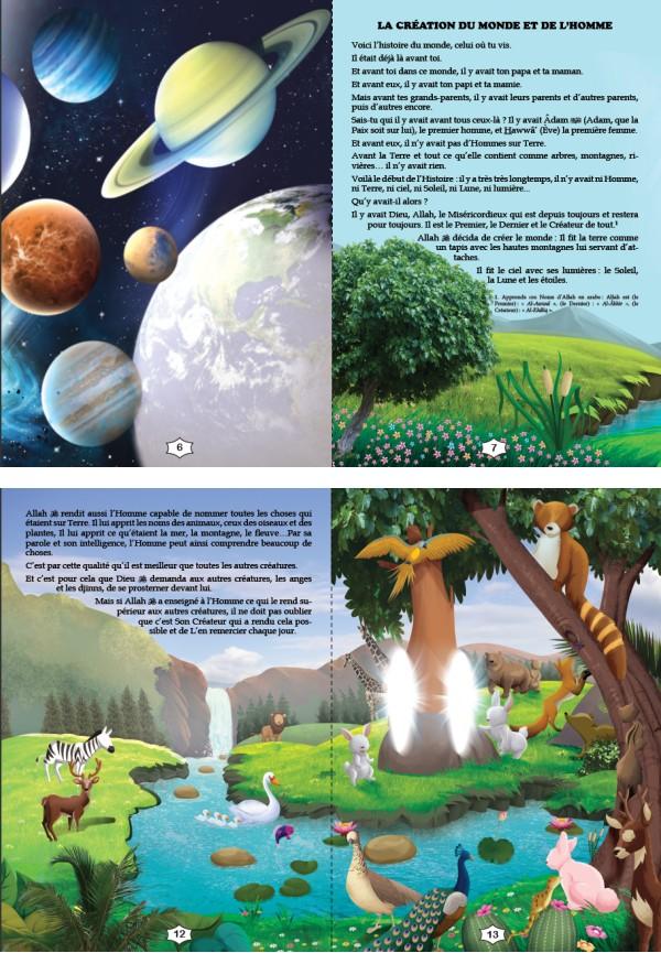 Les Histoires des Prophètes Racontées aux Enfants (Grand livre illustré à partir de 5 ans) - Version cartonnée de luxe-8537