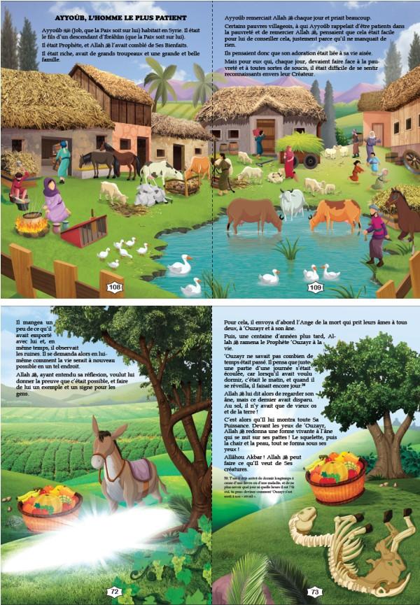 Les Histoires des Prophètes Racontées aux Enfants (Grand livre illustré à partir de 5 ans) - Version cartonnée de luxe-8538