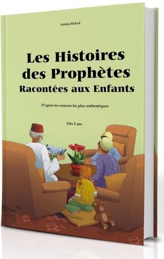 Les Histoires des Prophètes Racontées aux Enfants (Grand livre illustré à partir de 5 ans) - Version cartonnée de luxe-0