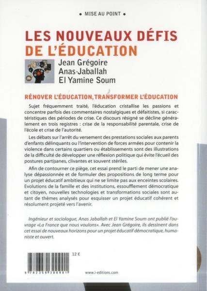 Les nouveaux défis de l'éducation-8695