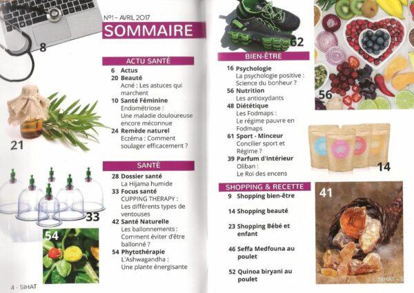 Sihat magazine Bimestriel - Santé et bien-être au naturel - N°1-8710