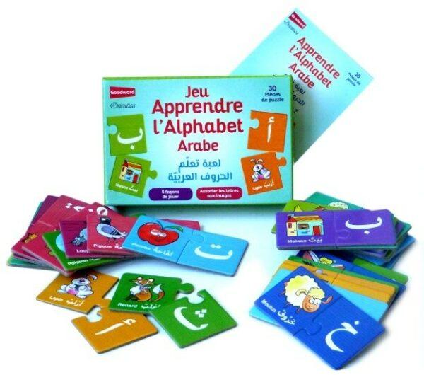 Jeu d'association : Apprendre l'alphabet arabe - لعبة تعلم الحروف العربية -8816