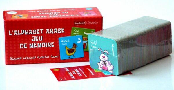 L'alphabet arabe : Jeu de mémoire des lettres arabes (56 cartes) - لعبة الذاكرة للحروف العربية-8808