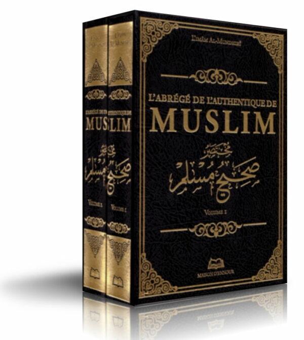 L'abrégé de l'authentique de MUSLIM 2 VOLUMES (Sahih Muslim)-0