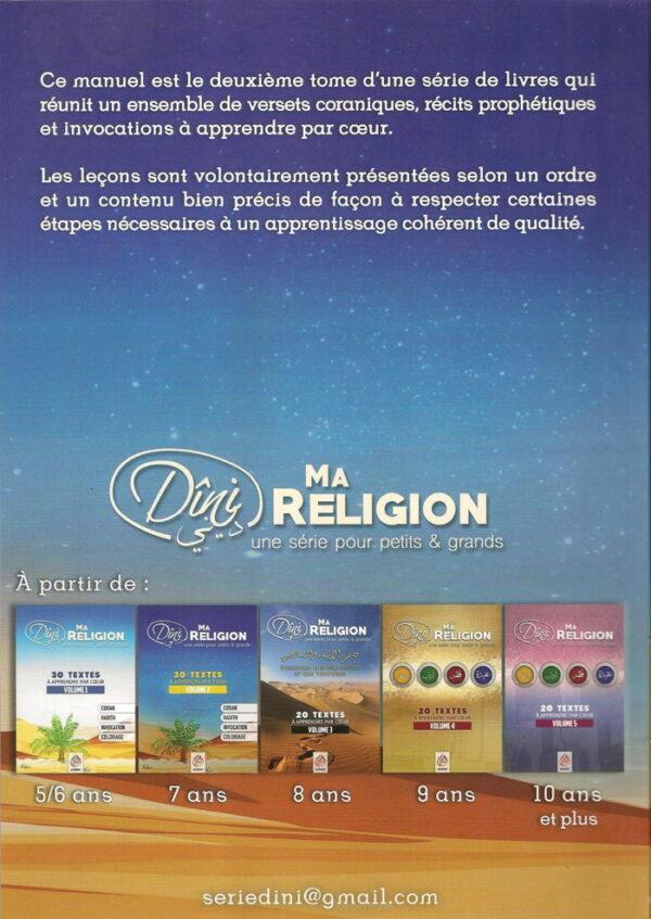 Ma religion une série pour petits et grands volume 2-8897