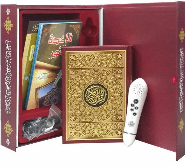 Coran tajwid , traductions,livres, avec stylo lecteur-8908