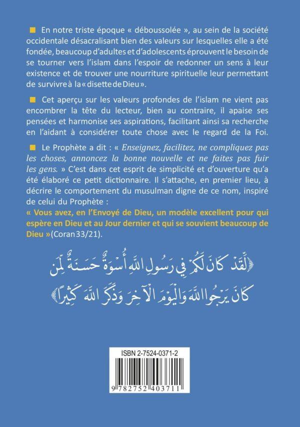 Petit dictionnaire de l'Islam pour qui espère en Dieu-8971