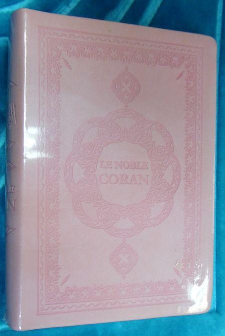Le Noble Coran (arabe/français/phonétique) Rose-0