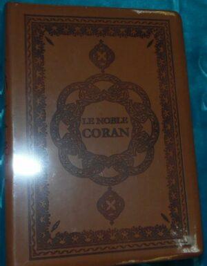 Le Noble Coran (arabe/français/phonétique) Marron-0
