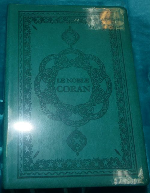 Le Noble Coran (arabe/français/phonétique) Vert-0